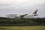 MOHICANさんが、成田国際空港で撮影したカタール航空カーゴ 777-FDZの航空フォト(写真)