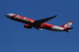 twining07さんが、成田国際空港で撮影したインドネシア・エアアジア・エックス A330-343Xの航空フォト(飛行機 写真・画像)