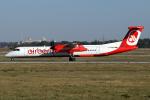 chrisshoさんが、シュトゥットガルト空港で撮影したエア・ベルリン DHC-8-402Q Dash 8の航空フォト(写真)