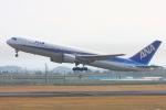 Hiro-hiroさんが、鹿児島空港で撮影した全日空 767-381の航空フォト(写真)