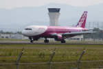 ひめままさんが、宮崎空港で撮影したピーチ A320-214の航空フォト(写真)