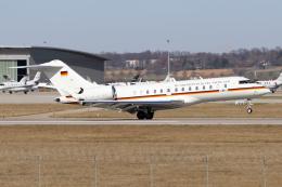 chrisshoさんが、シュトゥットガルト空港で撮影したドイツ空軍 BD-700 Global Express/5000/6000の航空フォト(飛行機 写真・画像)