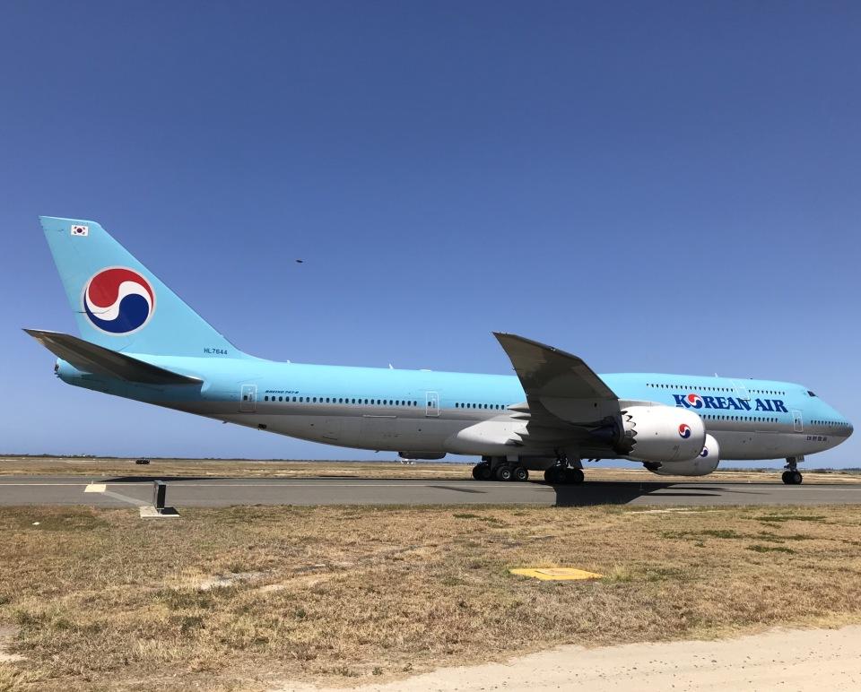 gratiii738さんの大韓航空 Boeing 747-8 (HL7644) 航空フォト