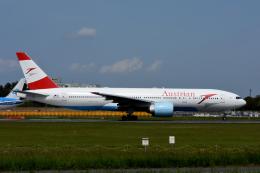 kansaigroundさんが、成田国際空港で撮影したオーストリア航空 777-2Z9/ERの航空フォト(飛行機 写真・画像)