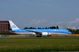 kansaigroundさんが、成田国際空港で撮影したKLMオランダ航空 787-9の航空フォト(飛行機 写真・画像)