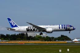 kansaigroundさんが、成田国際空港で撮影した全日空 787-9の航空フォト(飛行機 写真・画像)
