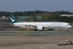 みるぽんたさんが、成田国際空港で撮影したキャセイパシフィック航空 A350-1041の航空フォト(写真)