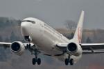 Dojalanaさんが、函館空港で撮影した日本航空 737-846の航空フォト(飛行機 写真・画像)