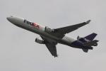 uhfxさんが、関西国際空港で撮影したフェデックス・エクスプレス MD-11Fの航空フォト(飛行機 写真・画像)