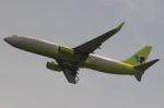 uhfxさんが、関西国際空港で撮影したジンエアー 737-8SHの航空フォト(写真)