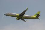 uhfxさんが、関西国際空港で撮影したジンエアー 737-8B5の航空フォト(写真)