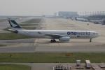 uhfxさんが、関西国際空港で撮影したキャセイパシフィック航空 A330-343Xの航空フォト(飛行機 写真・画像)
