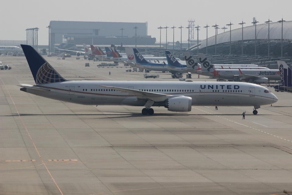 uhfxさんのユナイテッド航空 Boeing 787-9 (N13954) 航空フォト