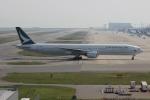 uhfxさんが、関西国際空港で撮影したキャセイパシフィック航空 777-367の航空フォト(写真)