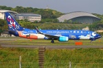 MOR1(新アカウント)さんが、福岡空港で撮影した中国聯合航空 737-8HXの航空フォト(写真)