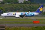 MOR1(新アカウント)さんが、福岡空港で撮影したスカイマーク 737-86Nの航空フォト(写真)