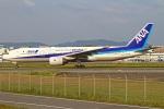 MOR1(新アカウント)さんが、福岡空港で撮影した全日空 777-281/ERの航空フォト(写真)