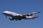 hukさんが、福岡空港で撮影したチャイナエアライン 747-409の航空フォト(写真)