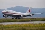 よんまるさんが、米子空港で撮影した航空自衛隊 747-47Cの航空フォト(飛行機 写真・画像)