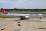 武彩航空公司(むさいえあ)さんが、成田国際空港で撮影したターキッシュ・エアラインズ 777-3F2/ERの航空フォト(飛行機 写真・画像)