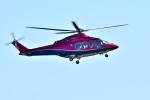Dojalanaさんが、函館空港で撮影した三井物産エアロスペース AW139の航空フォト(飛行機 写真・画像)