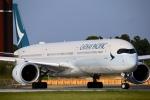ちゅういちさんが、成田国際空港で撮影したキャセイパシフィック航空 A350-1041の航空フォト(写真)
