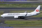 Chofu Spotter Ariaさんが、羽田空港で撮影した日本航空 737-846の航空フォト(写真)