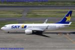 Chofu Spotter Ariaさんが、羽田空港で撮影したスカイマーク 737-81Dの航空フォト(写真)
