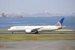 KAZFLYERさんが、羽田空港で撮影したユナイテッド航空 787-9の航空フォト(飛行機 写真・画像)