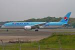 MOR1(新アカウント)さんが、福岡空港で撮影した大韓航空 787-9の航空フォト(写真)