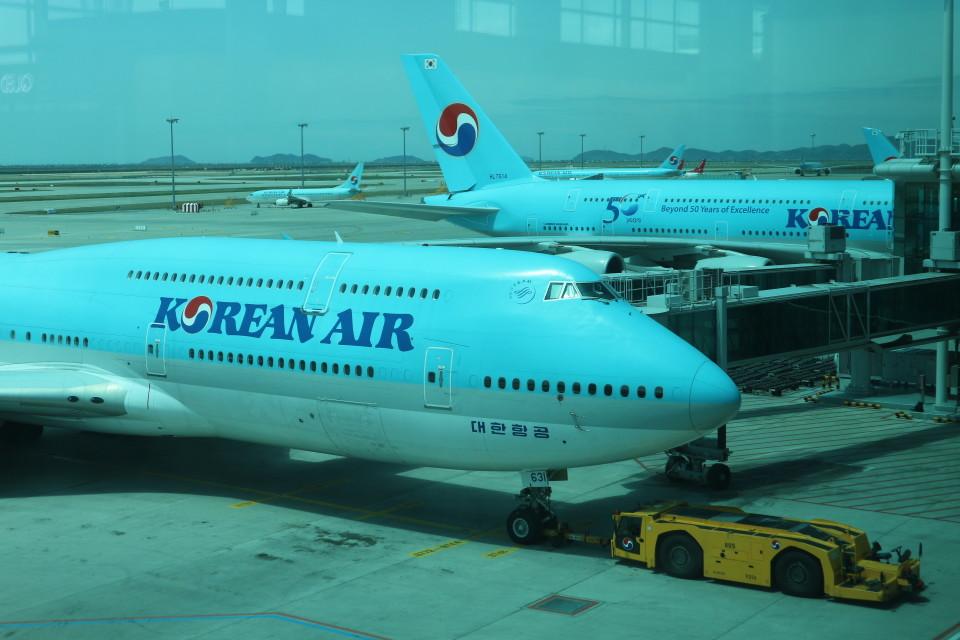 シフォンさんの大韓航空 Boeing 747-8 (HL7631) 航空フォト