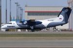 Wings Flapさんが、新千歳空港で撮影したオーロラ DHC-8-200Q Dash 8の航空フォト(写真)