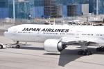 るかぬすさんが、羽田空港で撮影した日本航空 777-346/ERの航空フォト(写真)