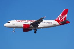 PASSENGERさんが、ロサンゼルス国際空港で撮影したヴァージン・アメリカ A319-112の航空フォト(飛行機 写真・画像)