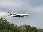 vegaltagoldさんが、成田国際空港で撮影したデルタ航空 A350-941XWBの航空フォト(写真)