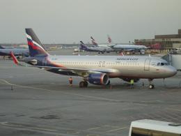 NIKEさんが、シェレメーチエヴォ国際空港で撮影したアエロフロート・ロシア航空 A320-214の航空フォト(飛行機 写真・画像)