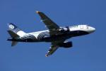sin747さんが、成田国際空港で撮影したオーロラ A319-111の航空フォト(写真)