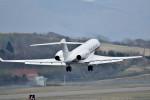 Dojalanaさんが、函館空港で撮影したTAG エイビエーション・アジア G650 (G-VI)の航空フォト(飛行機 写真・画像)