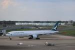 ツンさんが、成田国際空港で撮影したキャセイパシフィック航空 777-367の航空フォト(写真)