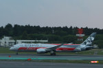 ツンさんが、成田国際空港で撮影したエティハド航空 787-9の航空フォト(写真)