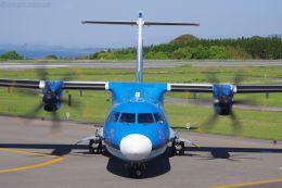 イチカメさんが、天草飛行場で撮影した天草エアライン ATR-42-600の航空フォト(飛行機 写真・画像)
