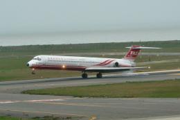 ひろぽ~んさんが、新潟空港で撮影した遠東航空 MD-83 (DC-9-83)の航空フォト(飛行機 写真・画像)