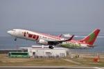 m_aereo_iさんが、中部国際空港で撮影したティーウェイ航空 737-8Q8の航空フォト(写真)