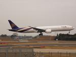 アイスコーヒーさんが、成田国際空港で撮影したタイ国際航空 777-35R/ERの航空フォト(飛行機 写真・画像)