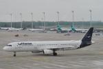 starlightさんが、ミュンヘン・フランツヨーゼフシュトラウス空港で撮影したルフトハンザドイツ航空 A321-131の航空フォト(写真)