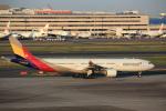 T.Sazenさんが、羽田空港で撮影したアシアナ航空 A330-323Xの航空フォト(飛行機 写真・画像)