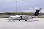 senyoさんが、カルガリー国際空港で撮影したエア・カナダ ジャズ DHC-8-301 Dash 8の航空フォト(写真)