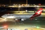 とらとらさんが、羽田空港で撮影したカンタス航空 747-438/ERの航空フォト(飛行機 写真・画像)