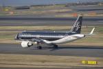 リンリンさんが、羽田空港で撮影したスターフライヤー A320-214の航空フォト(写真)