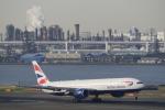 リンリンさんが、羽田空港で撮影したブリティッシュ・エアウェイズ 777-336/ERの航空フォト(写真)
